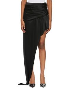 【金晨同款】黑色Exposed Leg短裙