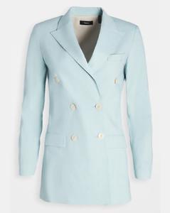 双排扣修身夹克