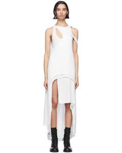 白色Rivale Multi连衣裙