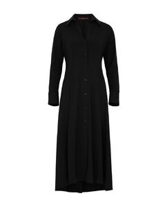 垂褶连衣裙
