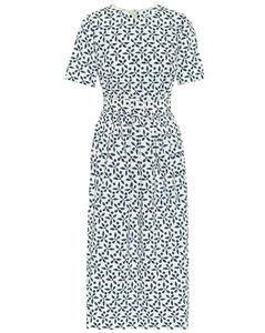 Mytheresa发售 – 印花弹力棉质中长连衣裙