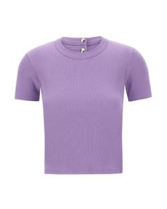 蓝色透明罩层衬衫连衣裙
