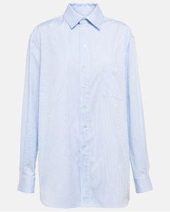 条纹金属感连衣裙