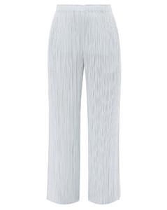 Berger silk one-shoulder gown