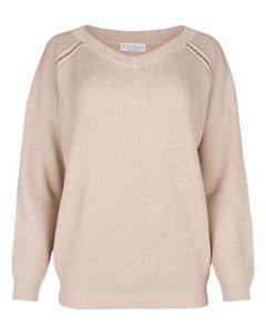 Nea层接式花卉印花棉丝混纺中长连衣裙