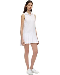 Mini Pleated Cotton PiquèTennis Dress