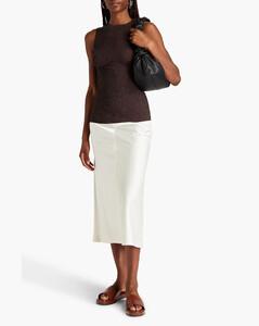 GG-jacquard wool straight-leg trousers