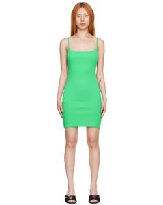 Polka Dots Stretch Velvet Long Dress