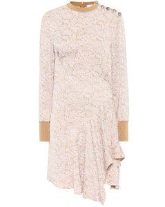 Asymmetric jacquard dress