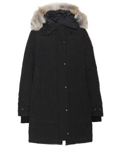 Shelburne fur-trimmed down coat