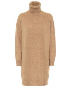 Greenh wool-blend dress