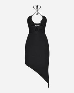 羊毛百褶连衣裙
