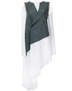层搭夹克式连衣裙