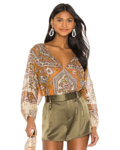 侧开衩超长半身裙