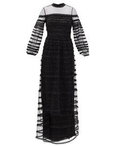 Promise embellished-tulle dress