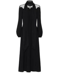 真丝绉纱长礼服