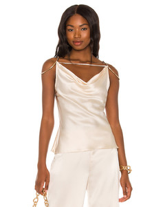 Dot-print tiered silk dress