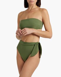 High-rise wool straight-leg trousers