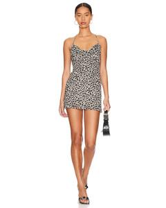 Cotton Poplin Mini Dress W/pique Detail