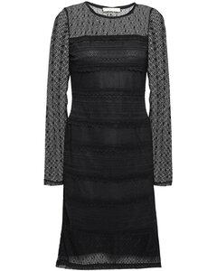 Stretch-lace dress