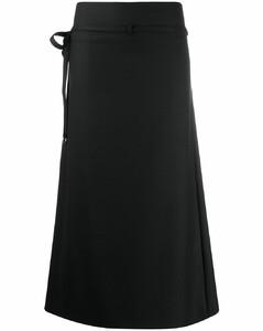 系腰带半身裙