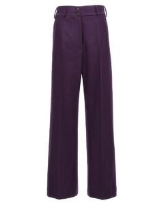 荷叶边层接式顺纡绉超长连衣裙