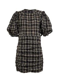 Adelaide organza mini dress