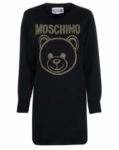 竹节纹T恤连衣裙