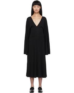 黑色Bolbec连衣裙