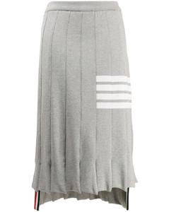 4条纹TROMPE L'OEIL短裙
