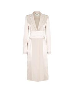GG交扣褶饰半身裙