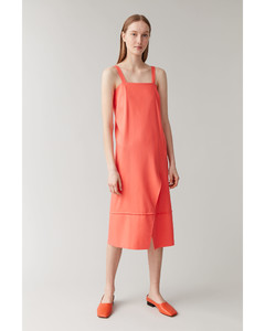 SLEEVELESS MID-LENGTH DRESS