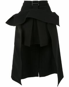 吊扣风衣半身裙