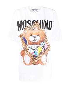 Frame Teddy Bear print jersey T-shirt