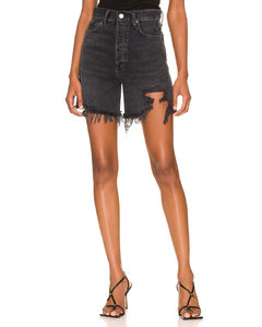 flower chain mail mini dress