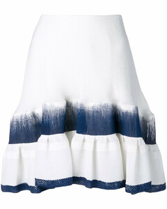 不对称层叠半身裙