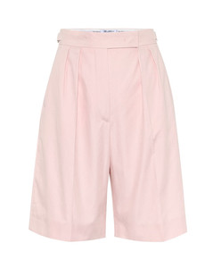 【万茜同款】Safari cotton Bermuda shorts