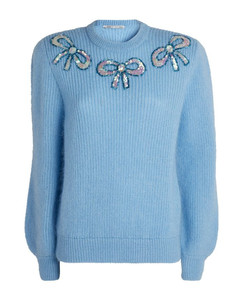 Wool Sweater with Bows