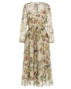 Adele crepe shirt dress
