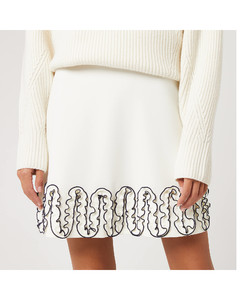 Women's Curle Edge Skirt - Iconic Milk