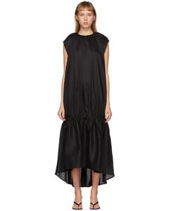 黑色Pretoria连衣裙