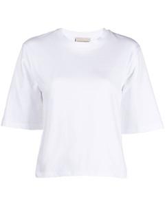 Fringed-cuff merino-wool dress