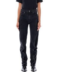 high waisted a-line skirt