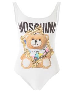 Swimsuits Moschino for Women Fantasia Bianco