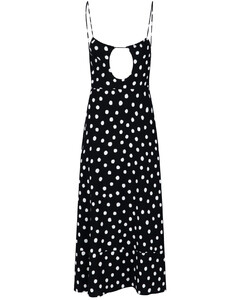 Leo Print Pleated Mini Dress