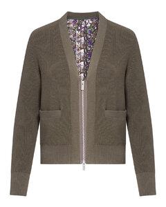 Denim Skirt in White
