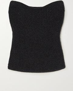 Black Cotton T-Shirt Dress
