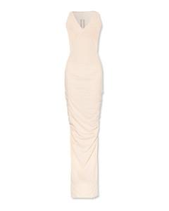 Lurex Knit Midi Dress
