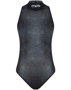abstract-print mini dress