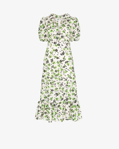 Oakley floral print seersucker dress